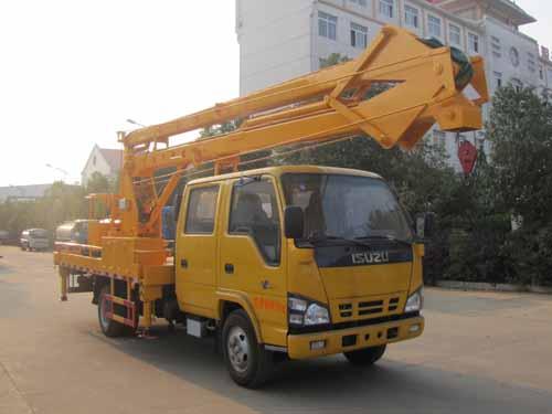 火狐体育官网注册牌SZD5070JGKQ18型高空作业车