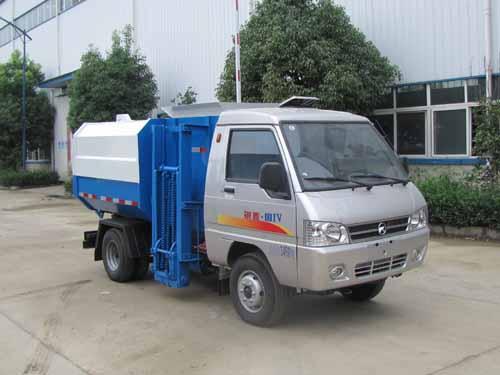 火狐体育官网注册牌SZD5033ZZZKM4型自装卸式垃圾车