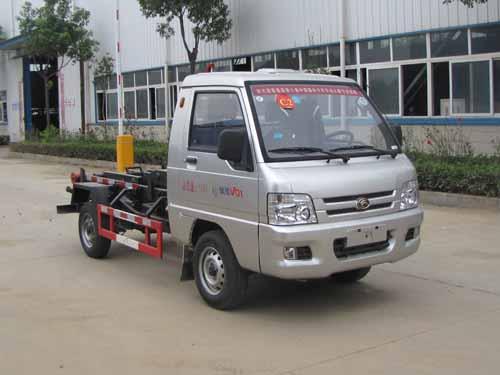 火狐体育官网注册牌SZD5030ZXXB5型车厢可卸式垃圾车