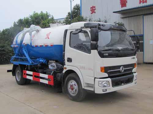 火狐体育官网注册牌SZD5110GXW5型吸污车