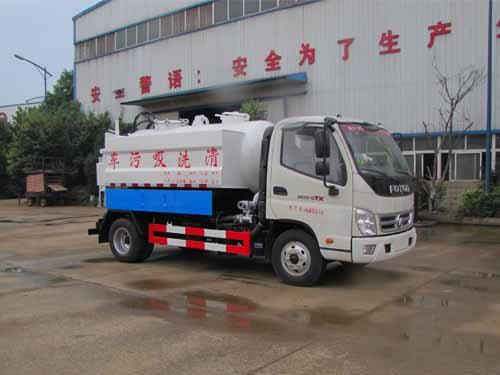 火狐体育官网注册牌SZD5049GQWB5型清洗吸污车