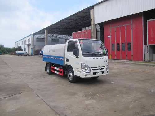 火狐体育官网注册牌SZD5032ZLJNJ5型自卸式垃圾车