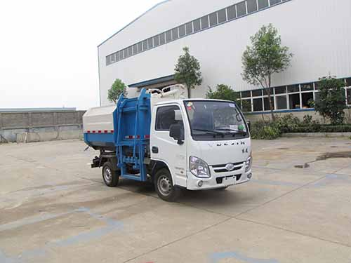 火狐体育官网注册牌SZD5032ZZZNJ5型自装卸式垃圾车